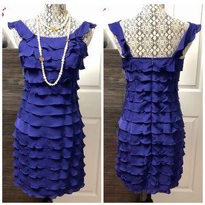 Indigo Cocktail Dress